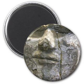Death Mask 2 Inch Round Magnet