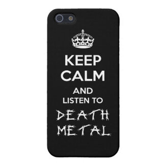 Death Metal Case Savvy iPhone 5/5S Case