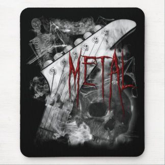 Death Metal Guitar Mouse Pad