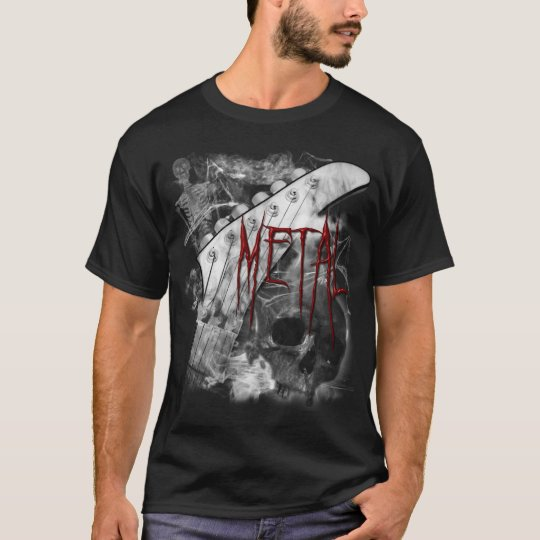 Death Metal Guitar Shirt