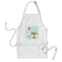 Death Metal Housewife Adult Apron