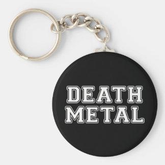 Death Metal Keychain