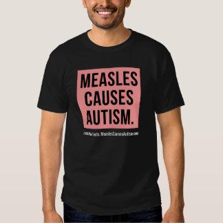 Death Metal Measles Causes Autism Awareness Tee