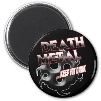 Death Metal music tshirt hat sticker poster pin 2 Inch Round Magnet