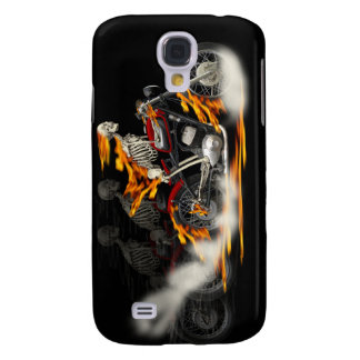 Death Metal Riders Bikers iPhone Case Galaxy S4 Cases