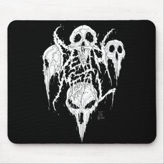 Death Metal Skulls Mouse Pad