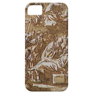 Death of a religious by Francisco de Zurbaran iPhone SE/5/5s Case