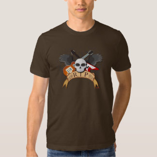 Death of a Rock Star Tees