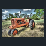 "Death of an Allis Chalmer&#39;s Photo Print<br><div class=""desc"">This old tractor farmed for years,  and now it just sits in a pasture gathering rust.</div>"