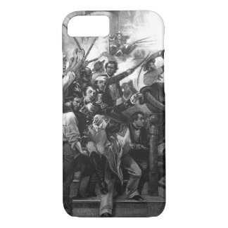 """Death of Captain Lawrence. """"Don't Give Up the Ship iPhone 8/7 Case"""