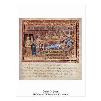 Death Of Dido By Master Of Vergilius Vaticanus Postcard