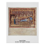 Death Of Dido By Master Of Vergilius Vaticanus Posters