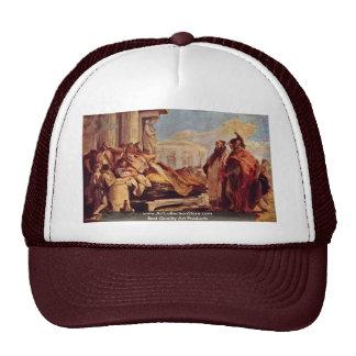 Death Of Dido By Tiepolo Giovanni Battista Mesh Hat