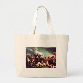 Death Of General Mercer at the Battle of Princeton Large Tote Bag