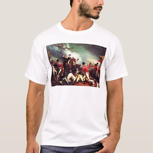 Death Of General Mercer at the Battle of Princeton T-Shirt