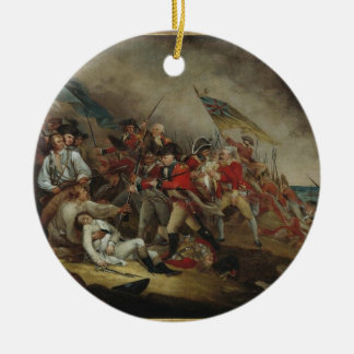 Death of General Montgomery Double-Sided Ceramic Round Christmas Ornament
