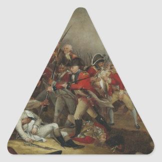 Death of General Montgomery Triangle Sticker