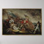 Death of General Warren at Battle of Bunker Hill Poster