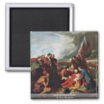 Death Of General Wolfe By West, Benjamin Refrigerator Magnets