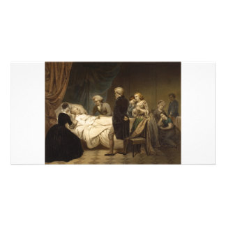 Death of George Washington collector photo cards