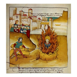 Death of Jan Hus Poster