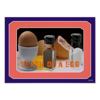 DEATH OF KEITH EGG POSTER