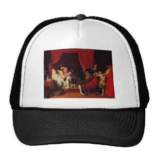 Death of Leonardo Da Vinci by Ingres circa 1818 Trucker Hat