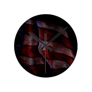 Death of Liberty Round Wall Clocks