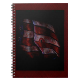 Death of Liberty Spiral Note Book