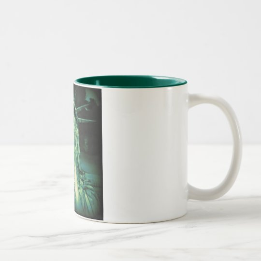 Death of Liberty Two-Tone Coffee Mug