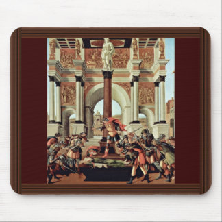 Death Of Lucretia By Botticelli Sandro Mousepad