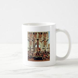 Death Of Lucretia By Botticelli Sandro Classic White Coffee Mug