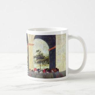 Death Of Lucretia By Lippi Filippino Classic White Coffee Mug