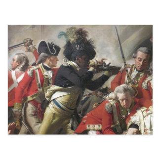 Death of Major Peirson by John Singelton Copely Postcard