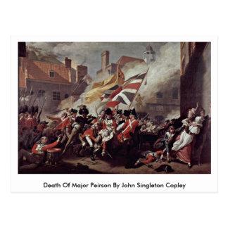 Death Of Major Peirson By John Singleton Copley Postcard