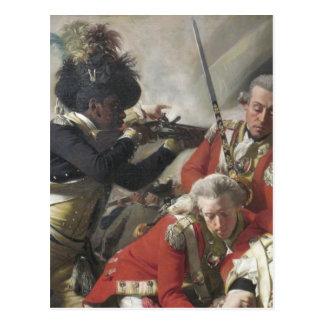 Death of Major Peirson Jersey Postcard