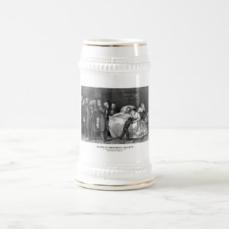 Death Of President Lincoln Beer Stein