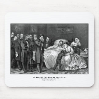 Death Of President Lincoln Mouse Pad