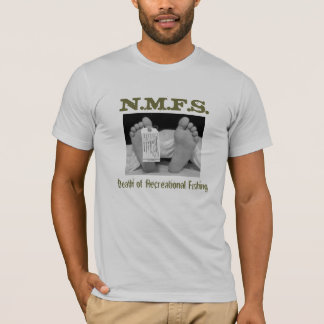 Death of Recreational Fishing T-Shirt