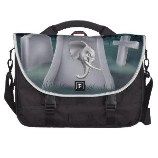 Death of Republican Party Concept Bags For Laptop