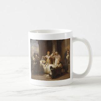 Death of Saint Margaret of Hungary - Jozsef Molnar Coffee Mug