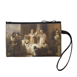 Death of Saint Margaret of Hungary - Jozsef Molnar Coin Purse