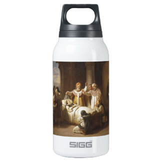 Death of Saint Margaret of Hungary - Jozsef Molnar Insulated Water Bottle