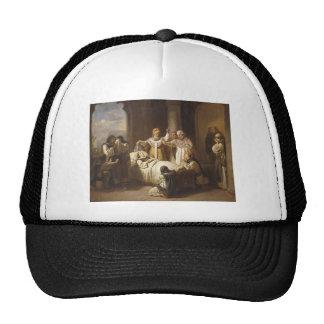 Death of Saint Margaret of Hungary - Jozsef Molnar Trucker Hat