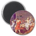 Death Of Socrates By David Jacques-Louis (Best Qua Fridge Magnet