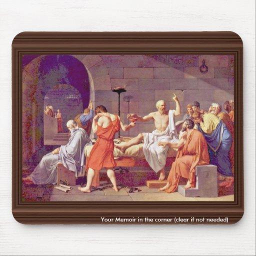 Death Of Socrates By David Jacques-Louis (Best Qua Mouse Pad
