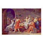 Death Of Socrates By David Jacques-Louis (Best Qua Posters