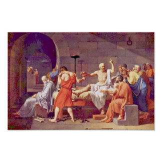 Death Of Socrates By David Jacques-Louis (Best Qua Poster