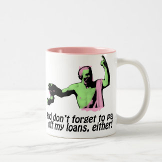 Death Of Socrates - Pay Off My Loans! Two-Tone Coffee Mug