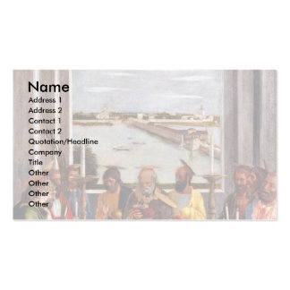 Death Of The Virgin By Andrea Mantegna Double-Sided Standard Business Cards (Pack Of 100)